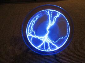 Lamp. Lightning Plate plasma disc, 9 inch