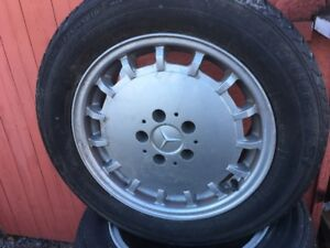 Mercedes rims and tires 225/55R16