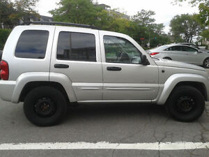 2004 Jeep Liberty LIMITED SUV, Crossover,ALL LEATHER.SUNROOF