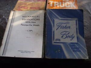 Vehicle service manuals