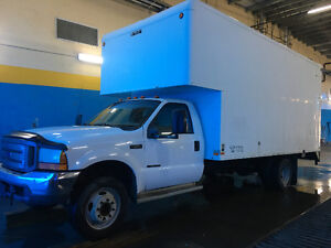 2000 Ford F-550 Cube truck Other