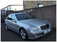 04 04 MERCEDES C270CDi AVANTGARDE SPORT SE V6 4DR AUTO LEATHER LOW MILEAGE A/C
