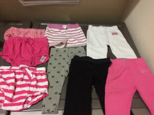 Baby girl pants/shorts/bloomers 12-18-24 months