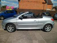 Peugeot 206 1.6 ( a/c ) 2004MY Coupe Cabriolet Allure