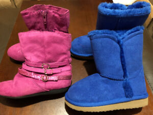 Toddler Girl Boots Size 8