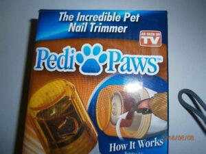 Pedi-Paws Pet Nail Trimmer $12.00