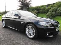 2013 BMW 520d M-SPORT**FACE LIFT MODEL **TWIN POWER TURBO**184bhp**LOW MILES**