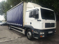 2008 MAN/ ERF TG-M 18.240 AUTOMATIC CURTAINSIDER TAILLIFT 18 TONN SLEEPER CAB PX