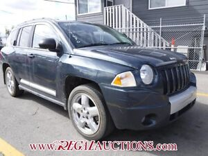 2008 JEEP COMPASS LIMITED 4D UTILITY