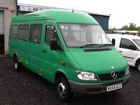 Mercedes-Benz SPRINTER 411 CDI 17 seat minibus only 60,000 miles