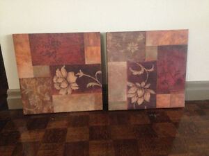 Art work (2 canvases)