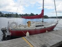 25 ft C&C sailboat for sale