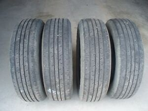P205/70/R16 All-Season Touring Continental (4) tires.