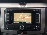 Genuine VW RNS315 DAB LED Sat Nav SD Card Stereo CD Player 510 Golf Caddy T5 GTI R32 Skoda Passat