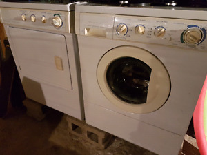 Washer and dryer set perfect working condition.