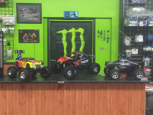 TRAXXAS! AXIAL! HOBBICO! GREAT PLANES @ HOBBIES & RIDES