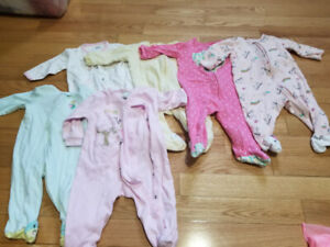 Carter's 6 month sleepers