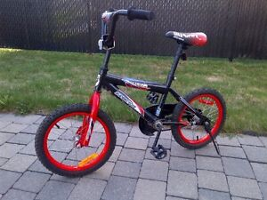 Bicycle for young boy