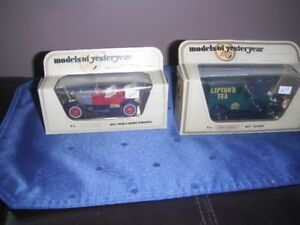 Matchbox - Six Models of Yesteryear made in England