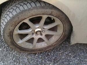 """16""""alum rims and tires"""