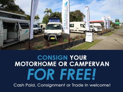FREE Consignment of all Campervans and Motorhomes RVs Coolangatta Gold Coast South Preview