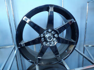 "17"" BLACK CHROME MULTI FIT ONLY $599/ SET OF 4!! 5x114.3/5x4.5 and 5x100"