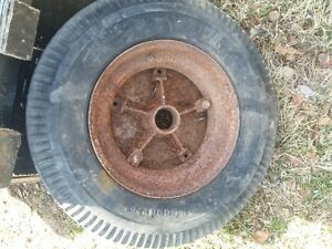 old rim from mobile home