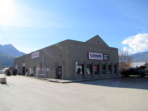 Salmon Arm - Leased 6000 SF Commercial Building for Sale