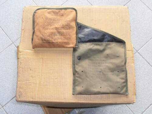 Us army chemical pad unit & refill pad