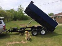 Dump trailer 160 per load