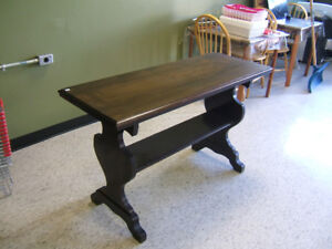 Solid Wood Library Table
