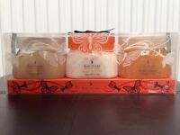 Sanctuary body scrubs and butter new sealed gift set, large