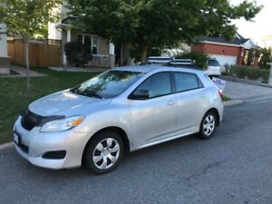 2009 Toyota Matrix All Wheel Drive