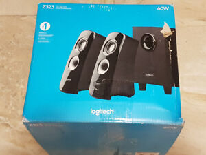 Logitech Z323 2.1 Channel Speaker System with subwoofer