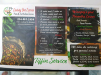 East Indian Tiffin services $5, free delivery