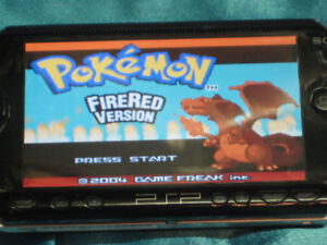 PSP Black with over 1000 Games GBA & SNES Emulation