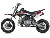 STOMP JUICEBOX 3 MOTOCROSS PIT BIKE, SEMI AUTO, 110CC, (PERFECT XMAS GIFT)