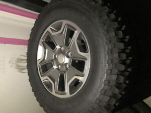 Jeep 17inch wheels and tires