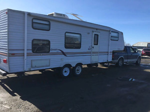 2002 Ford f150 xlt extended and 2000 Jayco Quest 27' Fifth wheel