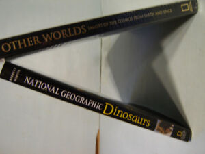 2 x National Geographic Hardcover Books - $60