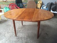 Vintage, retro extending dining table £35