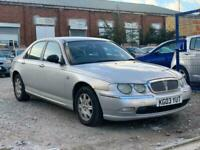 2003 Rover 75 2.0 CDT Classic SE 4dr Auto Low Miles Excellent Runner SALOON Dies