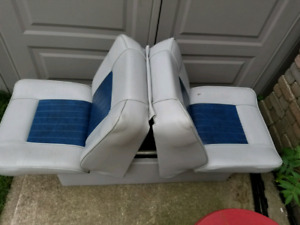 Fold down boat seat.