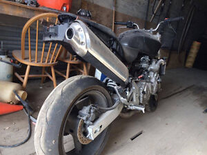 Honda Cb 599 Hornet stunt bike project