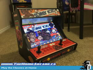 New The Home Arcade Bartop Cabinet with over 9,880 games & Wty