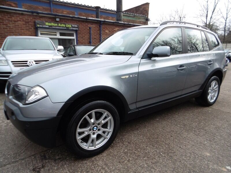 BMW X3 2.0d SE (PARKING SENSORS + 12 MONTH MOT) (grey)  P