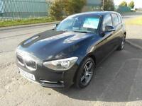2013 63 BMW 1 SERIES 1.6 114D SPORT 5D 94 BHP DIESEL