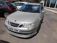 2006 9-3 AERO 210 BHP 2000 CC PETROL MANUAL 4 DOOR SALOON IN SILVER
