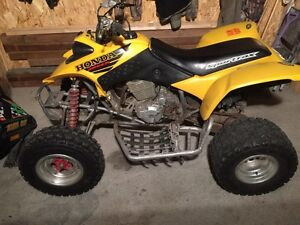 Clean 2002 Honda 400ex trades welcome