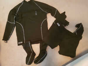 Fourth element dry suit thermal underwear
